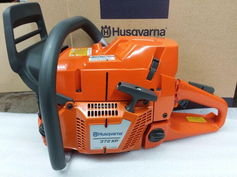 NEW Husqvarna 372 XPxtorq chainsaw