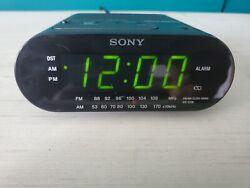 Sony Dream Machine Clock Radio - Black (ICFC218) #79