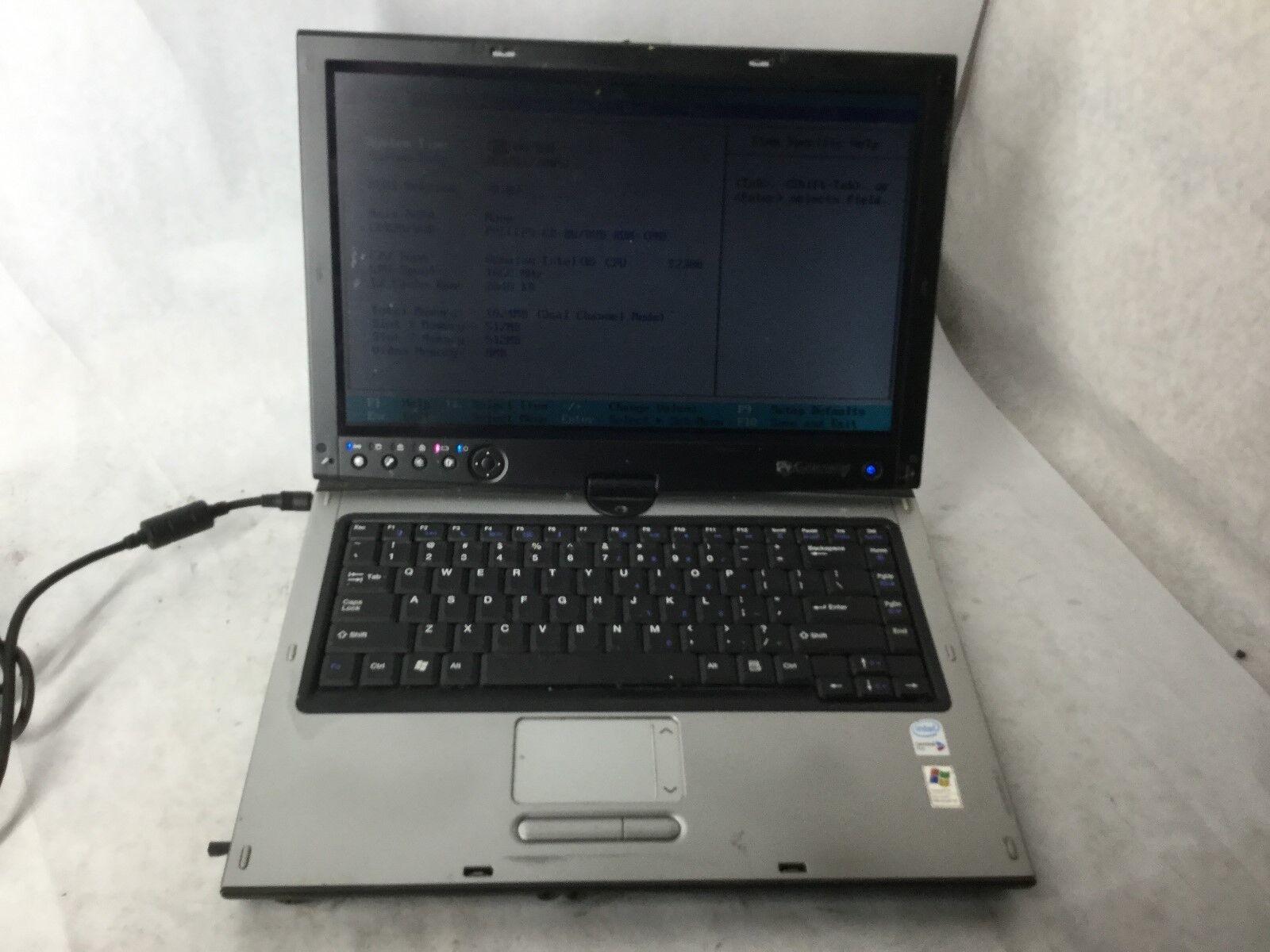 Gateway M285-E Intel CPU 1.6GHz 1gb RAM Laptop Computer -CZ