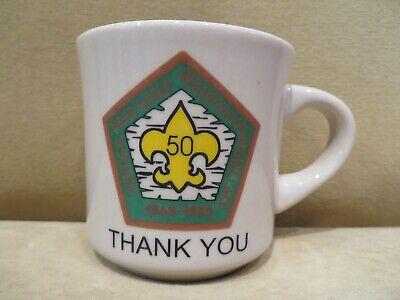 Boy Scout Mug 50th Anniversary Curtis Read