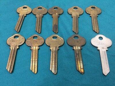 Sargent By Curtis Ilco S6 Keyway Key Blanks Set Of 10 - Locksmith