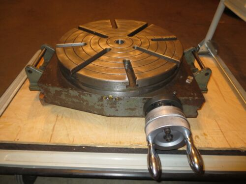 "Bridgeport Style 15"" Rotary Table"