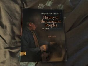 History of the Canadian Peoples textbook