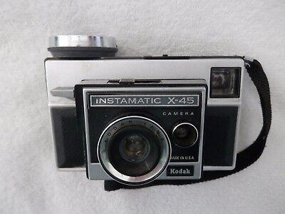 Vintage Kodak Instamatic X-45 Camera With Photo Cubes