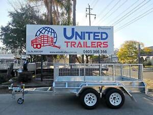 10 X 5 H/DUTY TANDEM GALVANISED BOX TRAILER 2000KG ATM W/600MM CAGE Penrith Penrith Area Preview