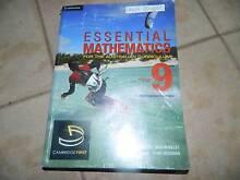 Essential Mathmatics 9 Text Book Narre Warren Casey Area Preview