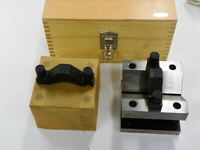 V-block Set With Clamps And Case E994