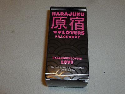 NEW IN BOX GWEN STEFANI HARAJUKU LOVERS FRAGRANCE TOILIETTE SPRAY PERFUME NIB >>