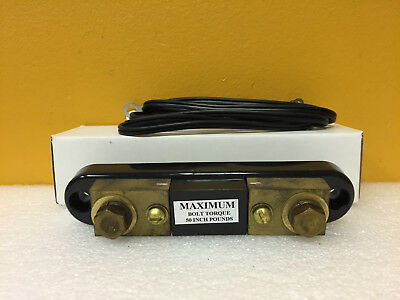 Simpson 06708 30 A 500 Mv Portable Current Shunt. New In Box