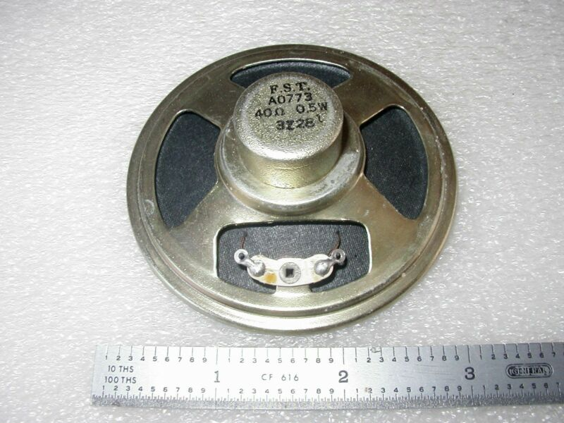 "MINIATURE 3.0"" ROUND SPEAKER 40 OHM - 1 pc"
