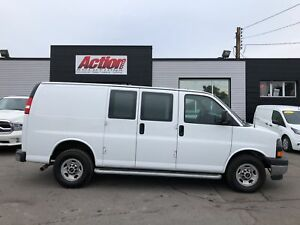 2017 Chevrolet Express 2500 GMC, shelving and ladder racks avail