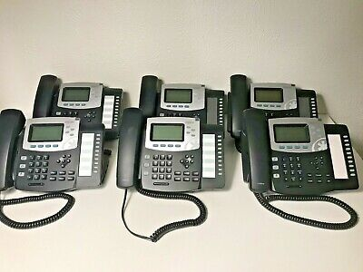 Lot Of 6 - Sangoma Digium D50 Voip Poe Desk Phone - Used