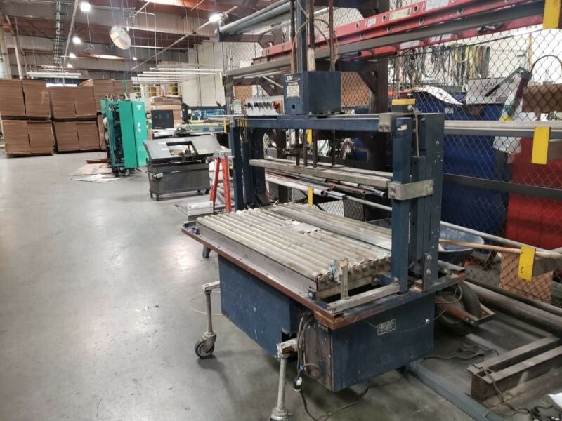 """Mosca Automatic Bundler Strapping Machine 56""""x22"""" Arch Size"""