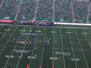Sask Roughrider Tickets for October 8