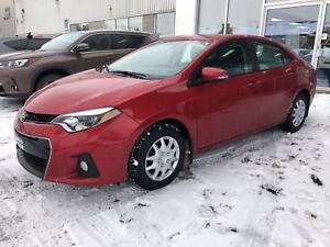 2014 Toyota Corolla S TOIT OUVRANT CUIR BLUETOOTH