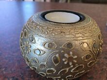 Beaded round candle holder Mount Keira Wollongong Area Preview