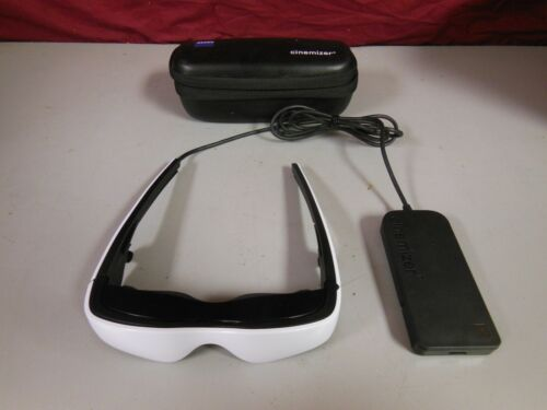 Carl Zeiss Cinemizer OLED 3D Multimedia Video Glasses