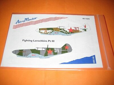 AEROMASTER DECALS LAGG-3 1/48 AMD48152