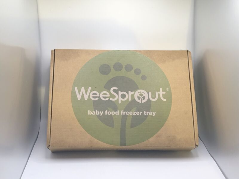 WEESPROUT SILICONE BABY FOOD FREEZER & STORAGE TRAY OPEN BOX NEW