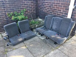 Full 5 backseats Holden Jackaroo 2nd & 3rd row North Sydney North Sydney Area Preview