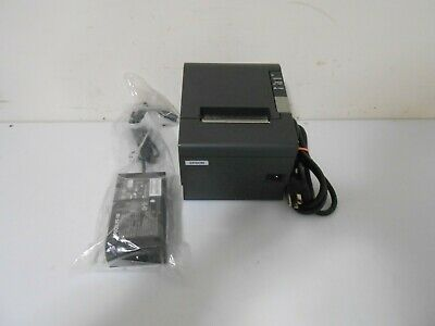 Epson Tm-t88iv Thermal Pos Receipt Printer M129h  With New Power Supply