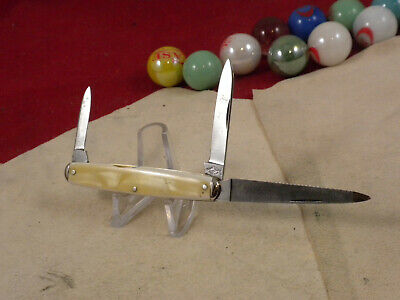 SHAPLEIGH HDW CO GENTLEMAN'S KNIFE NO BOX CRACKED ICE