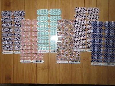 Jamberry 2015 Host Exclusives January April May June July October Full Sheet