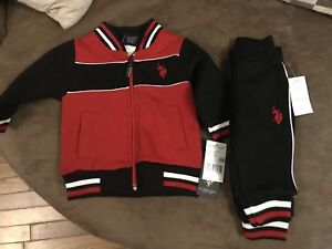 Polo sweat suit NEW
