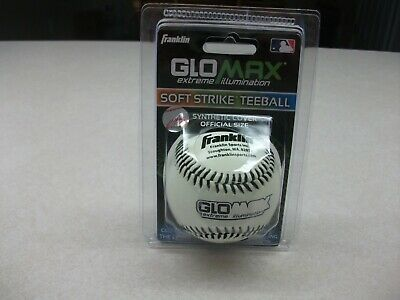 BRAND NEW Franklin MLB Baseball Synthetic Cover Glow In The Dark GLOWAX - Soccer Ball Glow In The Dark