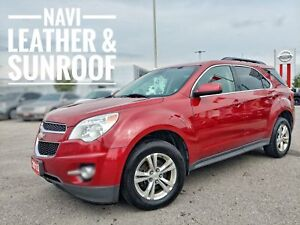 2013 Chevrolet Equinox 2LT Leather Roof Navi  FREE Delivery