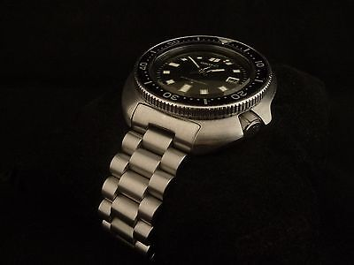 Mens Solid End Link President Bracelet For The Seiko 6105 Diver Watch Strap