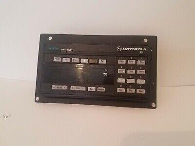 Motorola Astro Spectra Control Head - Systems 9000 - Hcn1078j