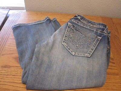 (Big Star CASEY CROP Low Rise Stretch Women's Jeans SIZE 29 / EUC)