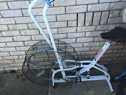 REPCO exercise bike  cross trainer great condition aust made quality