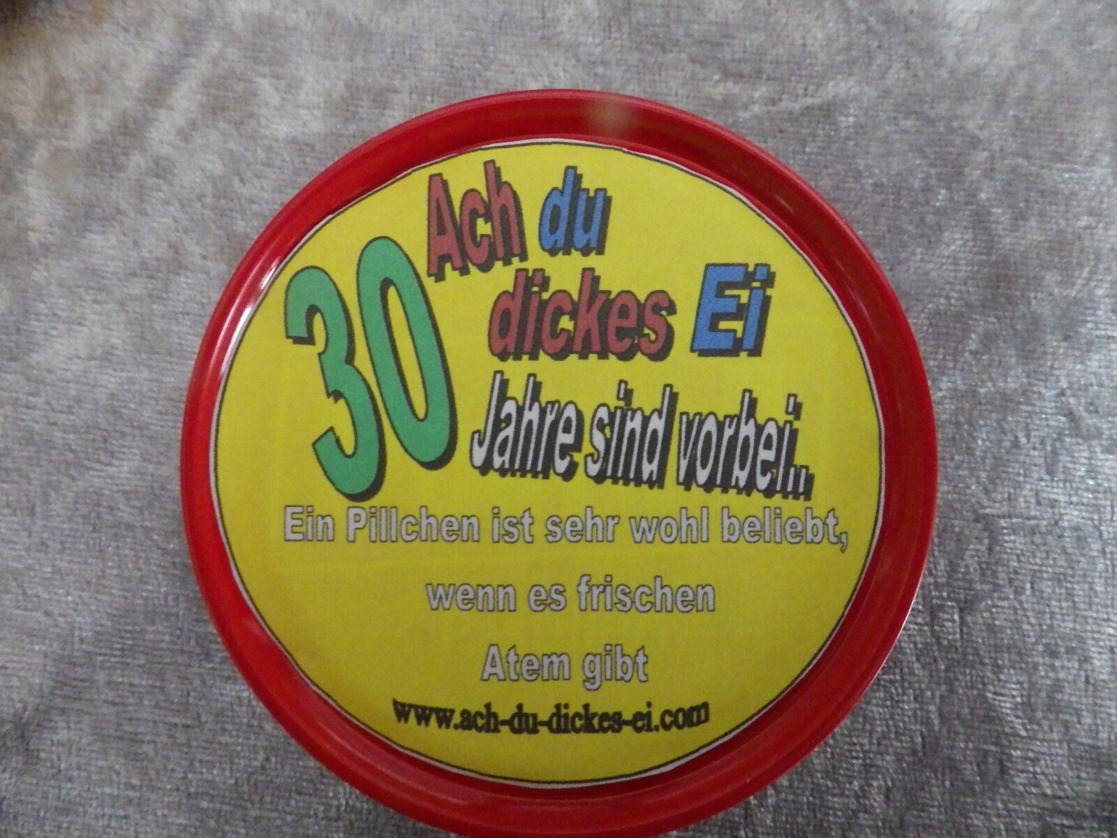 30.40.50. Geburtstag, lustiges Notfall Ei,das besondere Geschenk Mann oder Frau