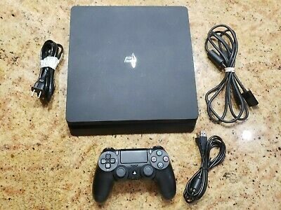 Sony PlayStation 4 PS4 Console System 1TB w cables 1 Controller
