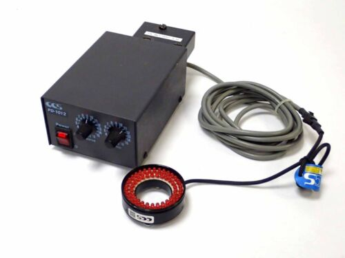 Ccs / Omron Pd-1012 12v Power Supply, In: 100-120v W Ila-2000-om-ns Red Led Ring
