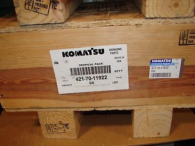 New Genuine Oem Komatsu Wa450 Loader Bucket Pin 421-70-11922