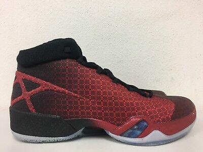 338b315c2bfa Nike Air Jordan XXX 30 Gym Red Black Bulls 811006-601 Mens Size 10