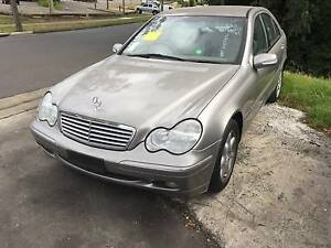 Mercedes C-Series Sedan C CLASS W203 C180 C200 WRECKING 4 PARTS Northmead Parramatta Area Preview