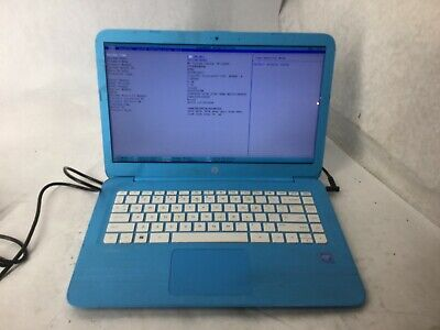 HP Stream 14-ax0xx Intel Celeron CPU 4gb RAM 16gb SSD 14