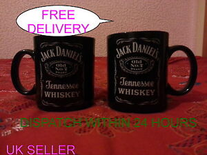 2 Brand New Jack Daniels (JD)Coffee Mug