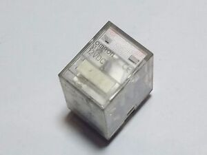 OMRON-MY2-12-V-DC-RELE-RELAY-2-CONTACTO-10-A-G