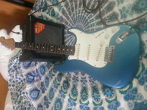 Mexican Fender Stratocaster and Amp