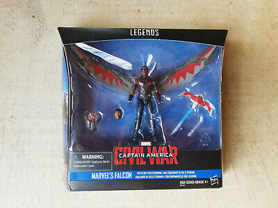 NEW Marvel Legends Series Falcon With Flight Tech And Redwing Action Figure MIB