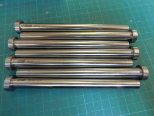 """7 PCS NP33 Injection Mold Ejector Pins 1/2"""" x 6.0"""""""