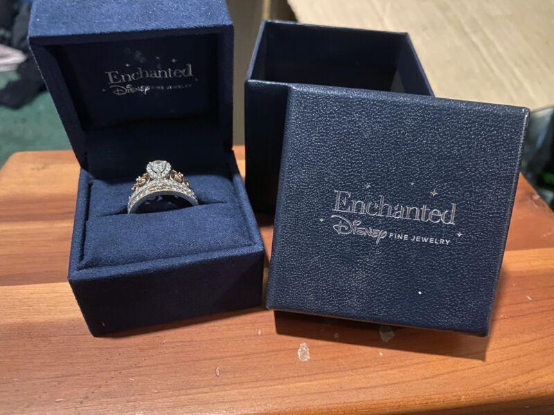 Zales Disney Enchanted Tiara Wedding Ring