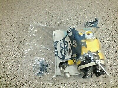 McDonalds Minion Movie 2015 Toy Figure Ball and Chain Minions NEW](Ball And Chain Movie)