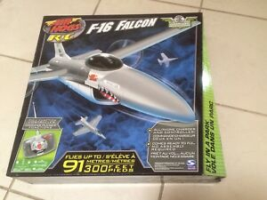 Unused Air Hogs radio-controlled F-16 falcon model plane