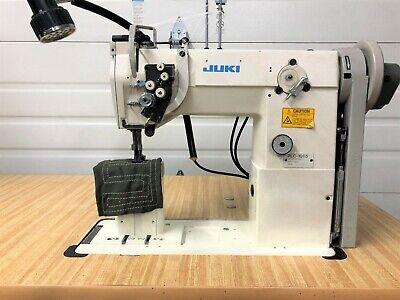 Juki Plc-1665 2ndl Postbed Walking Foot Split Bar 38 Industrial Sewing Machine